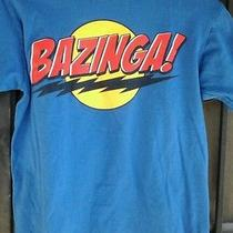 Bazinga   Officially Licensed  the Big Bang Theory Tv Show Warner bros.tshirt S Photo