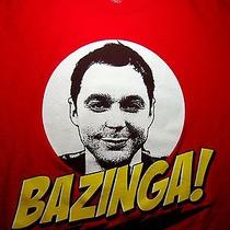 Bazinga T Shirt Med the Big Bang Theory Sheldon Cooper Jim Parsons Cbs Tv Show Photo