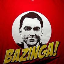 Bazinga T Shirt Med the Big Bang Theory Sheldon Cooper Jim Parsons Cbs Tv Show Photo