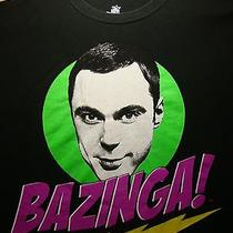 Bazinga T Shirt Xl the Big Bang Theory Sheldon Cooper Jim Parsons Cbs Tv Show Photo