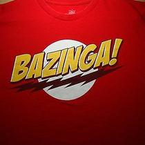 Bazinga T Shirt Xxl Tee 2xl the Big Bang Theory Sheldon Cooper Cbs Tv Comedy Photo