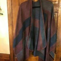 Bb Dakota Steve Madden Designer Womens Poncho Shawl Wrap One Size Photo