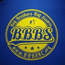 Bbbs Big Brothers Big Sisters T Shirt Large Tee Mentor Volunteer Made in Usa Photo