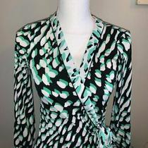 Bcbg Animal Print Wrap Dress Nwt Xs Photo