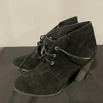 Bcbg Bcbgeneration Size 8 M Black Suede Boots New Women's Shoes Nwt Photo