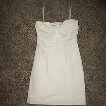 Bcbg Bcbgeneration White Dress Size 0 Photo