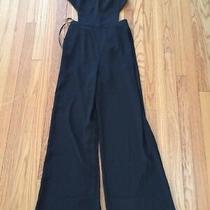 Bcbg Black Jumpsuit Romper Flash Sale Rossana Cutout Sides/back Bnwt  Size 4 Photo