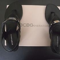 Bcbg Black Sandals New With Box Photo