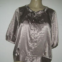 Bcbg  Blouse Shirt Trendy Dress Blouse Nwt X Large Nwt Photo