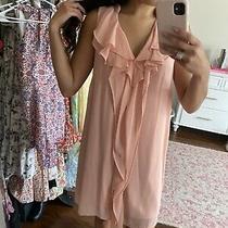 Bcbg Blush Pink Tank Top Dress Size Small Photo