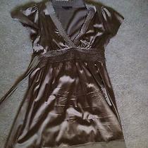 Bcbg Bronze Dress Size Large Photo