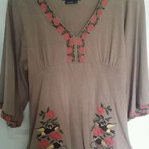 Bcbg Brown Blouse  Photo