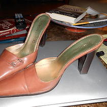 Bcbg Brown Slip on Heels Photo
