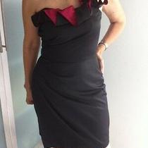 Bcbg Cocktail Dress - Size 4 - Black - 85% Price Reduced Photo