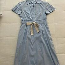 Bcbg Dress Sz 2 Light Blue Photo