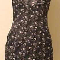 Bcbg Dresses Vintage Dress Sleeveless Floral Print Size 6 Usa Great Condition Photo