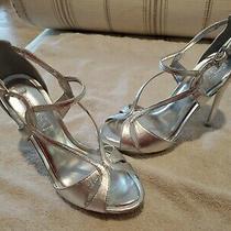 Bcbg Farid Metallic Sandal Size 9 Photo