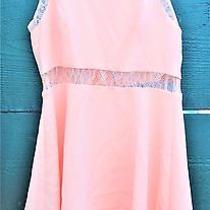 Bcbg Generation Dress Sz 8 Pink Lace Sleeveless Blush Spring Youngtrendy Photo