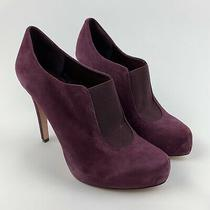 Bcbg Generation New Priyah Suede Leather High Heels Booties Boots Size 8 Pumps Photo