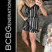 Bcbg Generation Nwt Sz S Strappy Polyester Romper 88 Photo
