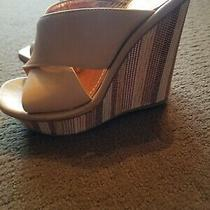 Bcbg Generation Platform Wedge Heel Sandals Size  6.5 Photo
