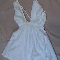Bcbg Generation White Dress Size 4 Photo