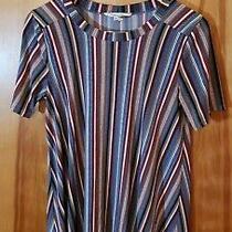 Bcbg Generation Women's Striped Tee Dress Size M Photo