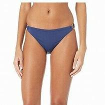 Bcbg Generation Womens Swimwear Blue Size Medium M Hardware Ring Bottom 45 180 Photo