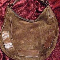 Bcbg Genuine Suede Purse Photo