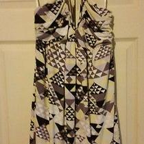 Bcbg Halter Dress Size Large Photo