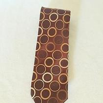 Bcbg Hand Made 100% Silk Tie Mens 58