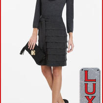 Bcbg Heather Charcoal Wool 