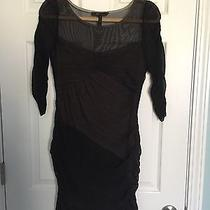 Bcbg Illusion Dress Size M Photo