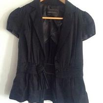 Bcbg Jacket in Black Cup Sleeve Xs Photo