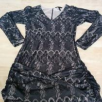 Bcbg Lace Dress Small Photo