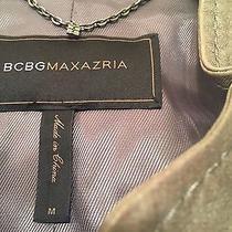Bcbg Leather Jacket Photo