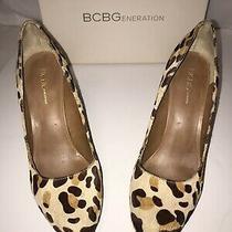 Bcbg Leopard Pumps Size 8.5 Photo