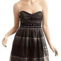 Bcbg Max Azria Black and White Dress Size 0 Photo