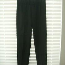 Bcbg Max Azria Black Maria Straight Slim Pants Size Small Photo