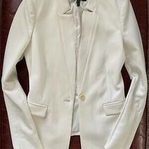 Bcbg Max Azria Blazer (Off-White/cream Colored) - Was 300 New Photo