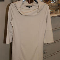 Bcbg Max Azria Dress Beige Acrylic Blend Sz S Euc Photo