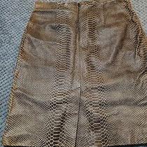 Bcbg Max Azria Faux Leather Skirt Photo