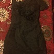 Bcbg Max Azria Flower Sexy Lace See Through Iba6m211 Dress Size 04 Photo