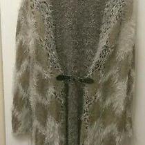 Bcbg Max Azria Ladies Cardigan Sweater Size L This Sweater Was  240.00 New Photo