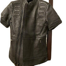 Bcbg Max Azria Leather Jacket Photo