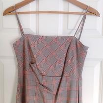 Bcbg Max Azria Plaid School Work Dress With Adjustable Straps Photo