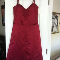 Bcbg Max Azria Red   Dress -Size 6 Photo