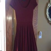 Bcbg Max Azria Red Dress Sz Medium Photo