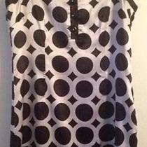 Bcbg Max Azria Small Black and White Dress Photo