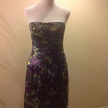 Bcbg Max Azria Strapless Taffeta Dress Photo